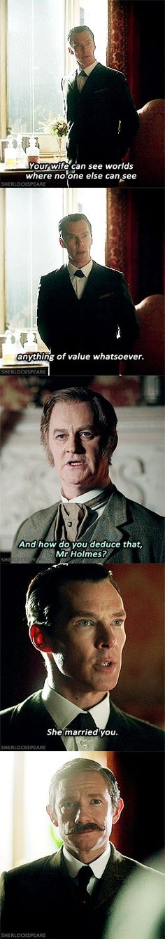 Sherlock is a feminist in his mind palace. Not because of RL pressure, but because it's logical. Good man, that Sherlock.