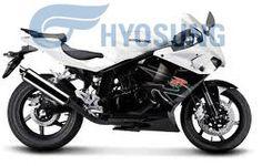 hyosung sporty bike......