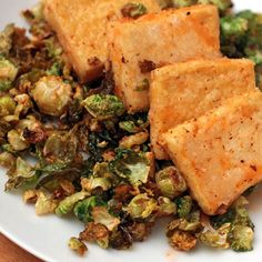 Fried Brussels Sprouts with Sriracha-Honey Sauce