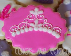 barbie princess cookies from Color Me Cookie
