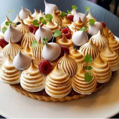 David vidal plates up chefs gallery Elegant Desserts, Fancy Desserts, Just Desserts, Delicious Desserts, Yummy Food, Tart Recipes, Baking Recipes, Sweet Recipes, Dessert Recipes