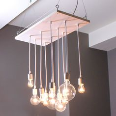 Small Whitewash Chandelier by Urban Chandy