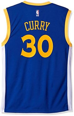 NBA Golden State Warriors Stephen Curry Road Replica Jersey Blue 86208a6c0