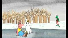 kikker en de sneeuwman - YouTube