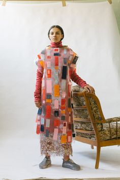 Phoebe Kime: Debut Collection — Thisispaper — What we save, saves us. Glass Slipper, Knitwear, Textiles, Dresses With Sleeves, Long Sleeve, Fashion Design, Beautiful, Collection, Slippers