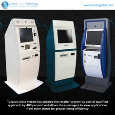 #Tucana's #kiosk system has enabled the #retailer to #grow its pool of qualified #applicants by 400 percent and allows #store #managers to view #applications from other stores for greater #hiring #efficiency. #TucanaGlobalTechnology #Manufacturer #HongKong