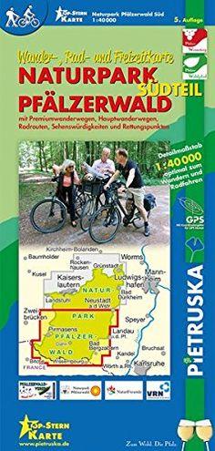 Naturpark Pfälzerwald Südteil: Wander-, Rad- und Freizeitkarte