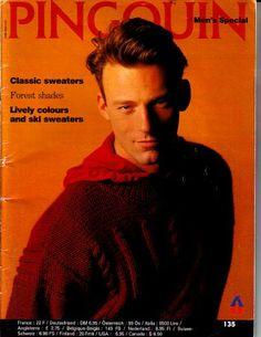 Classic Sweaters, Knitting Magazine, Catalogue, Magazines, Funny Stuff, Crochet Patterns, Men Sweater, Books, Funny Things