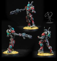 I've done a few Infinity projects, but I've finally jumped in, with Infinity's new Operation: Icestorm starter set.