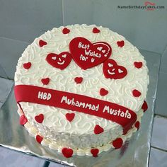 The name [muhammad mustafa] is generated on Love Daisy Cakes With Name image. Download and share Birthday Cakes For Lover images and impress your friends.