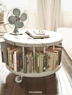 a must have turning around book shelf :)