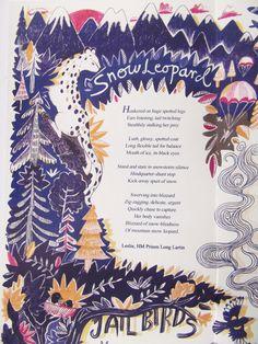 Koestler Trust illustrated anthology- close up.