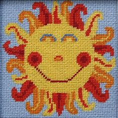 Sun - Needlepoint Kit Alice Peterson http://www.amazon.com/dp/B004LHR0T2/ref=cm_sw_r_pi_dp_jAAnvb0VH5PB4