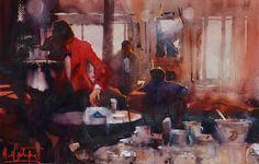 Alvaro Castagnet, 1954 ~ Watercolor painter