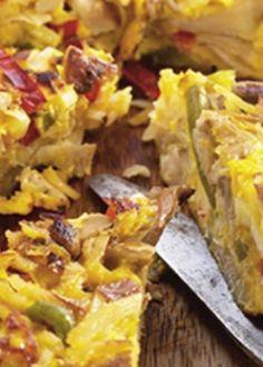 Tortilha de cogumelos
