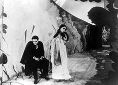 The Cabinet of Dr. Caligari.
