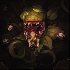"""Little Shop of Horrors concept by """"Bunny"""" and Broken Teacups Ltd."""