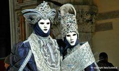 Eerily beautiful, venetian masks, Venice, Italy