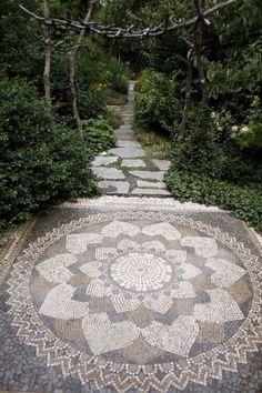 tapetes de piedra