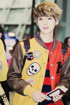 Luhan the man. Cant wait to see him and the others. In God's will :)