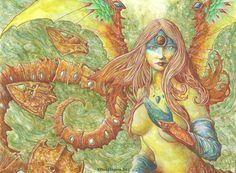 Melusine by wyrdlander.deviantart.com on @deviantART