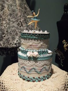 Birthday Cake by Denise Phillips for Retro Cafe Art Gallery