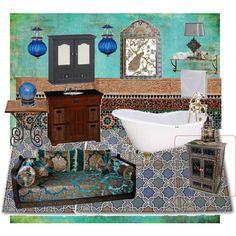 Dreamy Moroccan Bathroom