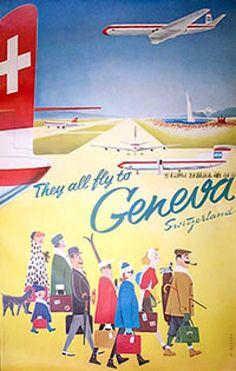 Geneva, 1959 by Walter Mahrer