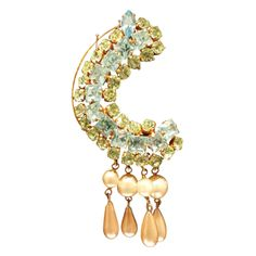 Vintage Christian Lacroix Couture Earring   From a unique collection of vintage more earrings at http://www.1stdibs.com/jewelry/earrings/more-earrings/