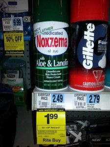 Rite Aid: FREE Noxzema Shave Cream - NO Coupons Needed!