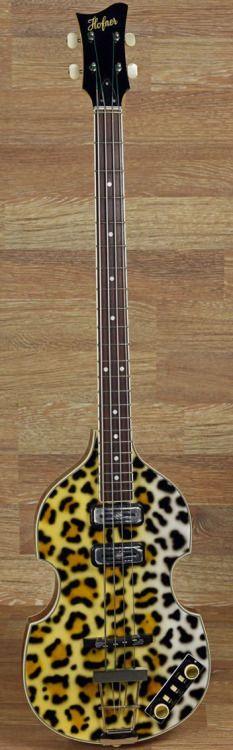 Hofner 500/1 prototype Leopard Bass --- https://www.pinterest.com/lardyfatboy/
