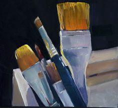 Una pintura al día: Pinceles