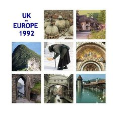 UK and EUROPE 1992 | Blurb book by Dominic  Scott.