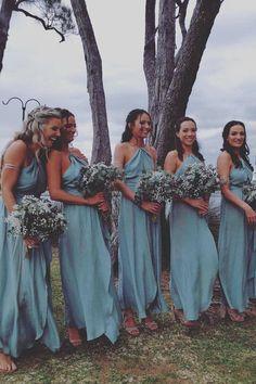 Stop Motion Maxi Dress Olive - Dresses Royal Blue Bridesmaid Dresses, Junior Bridesmaid Dresses, Bridesmaid Colours, Azul Pantone, Pantone Color, Different Dress Styles, Backless, Chiffon, Colors
