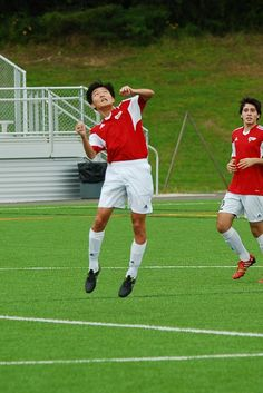 Team America 96 (2014 OBGC Capital Cup, U18/U19 Premiere) vs ABGC United (August 30, 2014) -- Haruto Kato #4, Anthony Nauls #12(TAFC96 Soccer)