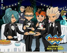 Kidou even wore his goggles to that fancy event. I wouldn't be surprised if he'd worn his cape as well