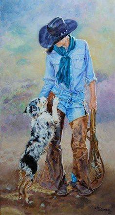 JaNeil Anderson.... western art.