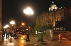 downtown bloomington il - Google Search