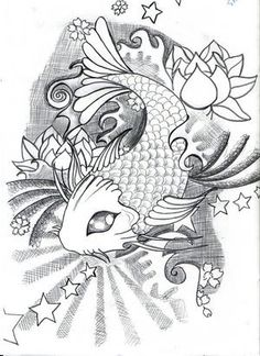 Koi Fish Tattoo Designs | Tattoo Designs Koi Fish Amp Lotus Picture By Ms Ladybug13