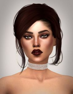 Nonaaa Sims: Liv Wright • Sims 4 Downloads