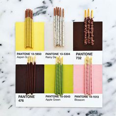 We love Pantone Food by photographer @lucialitman who matches colourful food to different Pantone shades.  #CreativeBoom #PantonePosts #FoodArt