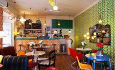 Resultado de imagen de cafeteria vintage chic
