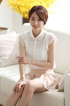 New stylish designer's blouse