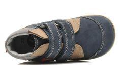 Kickers BIVOUAC1 (Bleu) - Chaussures à scratch chez Sarenza (220880)