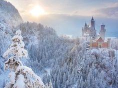 10 beautiful snow castles... #travel #snow #castles