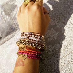 Too much? Never!  #love #style #wearit #pretty #vintage #sieraden #juwelry #armband #kayinmui #durvenveranderen
