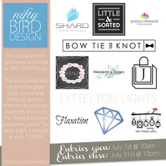 Enter to win: Collaborative Bridal Giveaway   http://www.dango.co.nz/s.php?u=03tniWRf1969