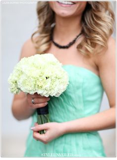 Thanks to Blair Waldorf I love these flowers. Might want a winter wedding (do all my girls' hair and makeup a favor)