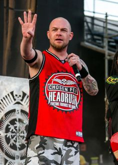 Ivan Moody of Five Finger Death Punch performs during 2014 Rock On The Range at Columbus Crew Stadium on May 18, 2014 in Columbus, Ohio