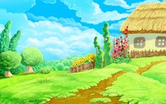 View album on Yandex. Farm Cartoon, Beach Cartoon, Wallpaper Powerpoint, Powerpoint Background Design, Scenery Pictures, Background Pictures, Boarders And Frames, Facebook Cover Images, School Murals
